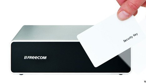 Freecom launches keycard-lockable hard drive secure