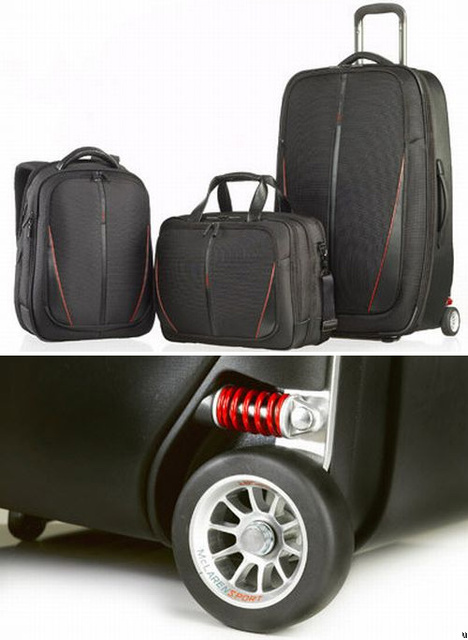 McLaren and Samsonite team up for new suitcases
