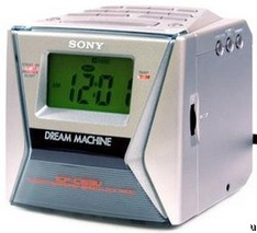 how to set time on sony dream machine