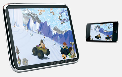 Apple Tablet in 13 and 15 inches (rumor)