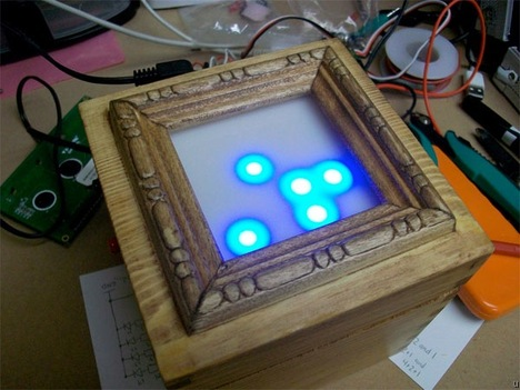 Binary clock relies on Arduino board