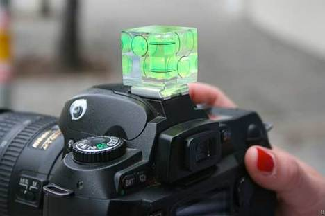 Camera Cube Level helps you get good shots each time