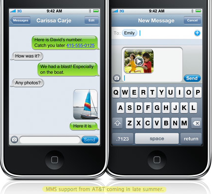 Apple sued by disgruntled customer over MMS