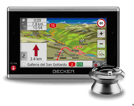 GPS Becker Traffic Assist Pro Z 302 Pour Les Routiers