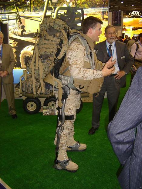 Exosquelette Human Universal Load Carrier