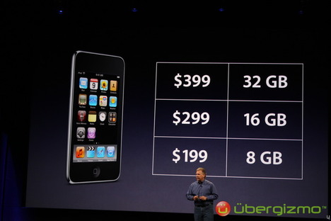 iPod touch 3G unveiled