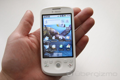 mytouch 3g review ubergizmo