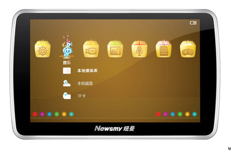 Newsmy A16HD portable media player