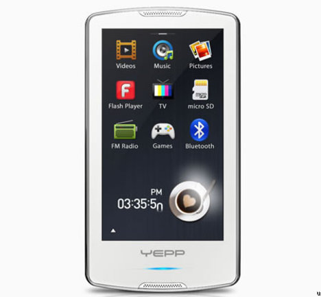 Samsung M1 portable media player