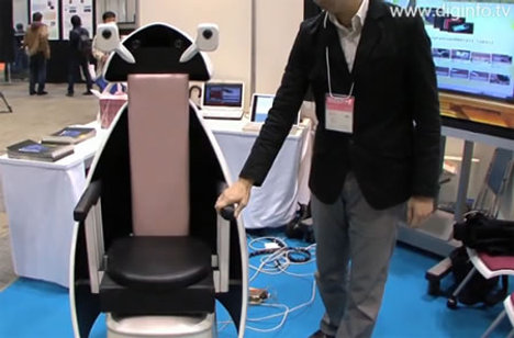 Indoor Personal Mobility Robot Wheelchair