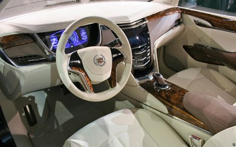 Cadillac XTS Platinum concept has OLED display