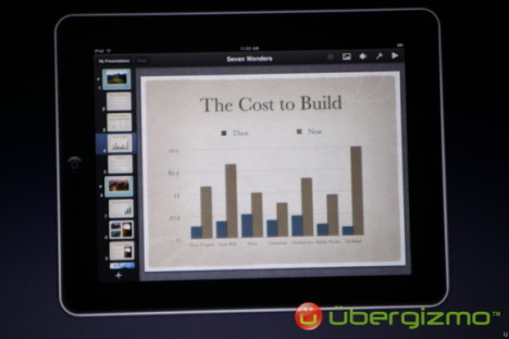 Redesigned iWork For Apple iPad