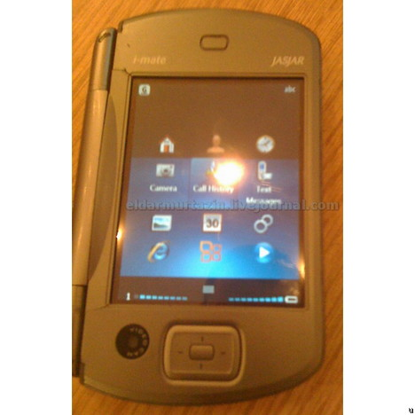 L'i-mate JASJAR tourne sous Windows Mobile 7