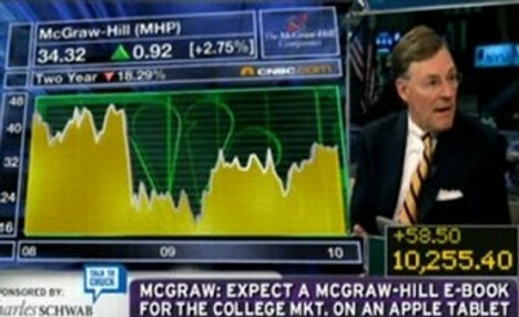 CEO Of McGraw Hill Confirms Apple Tablet