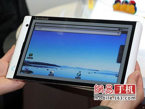 Tablet ViewSonic VTablet 101 sous Android