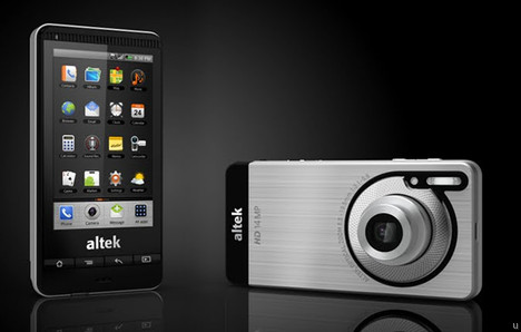Altek Leo 3.5G runs on Android, has 14-megapixel camera