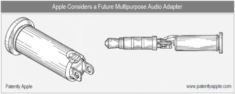 Patent: Multi-purpose iPhone Audio Adapter To Assist The Hearing Impaired