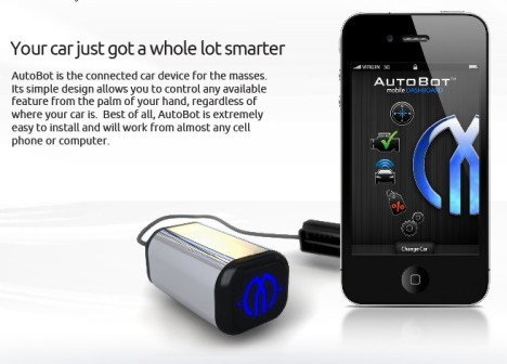 AutoBot Keeps Your iPhone In Touch With Your Vehicle's Health