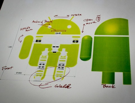 Android Robot Comes to Life: Walks, Talks, and Moves