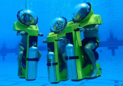 Hydrodome BOB: Breathing Observation Bubble