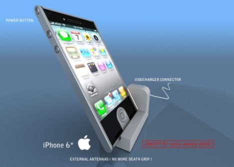 Concept de design de l'iPhone 6