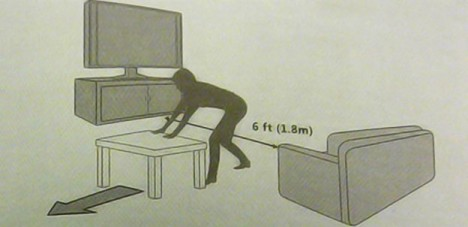 Kinect Manual Confirms Mandatory 6 To 8 Feet Distance