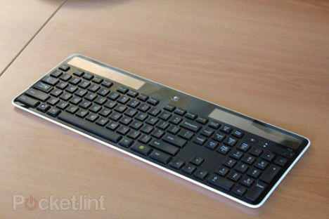 Logitech Unveils Its K750 Wireless Solar-powered Keyboard