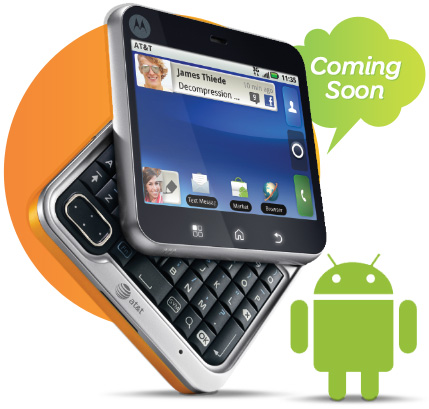 Motorola Flipout Finally Gets Announced on AT&T