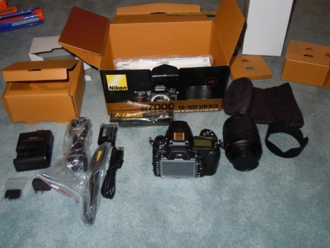 Nikon D7000 Sold Early And Unboxed