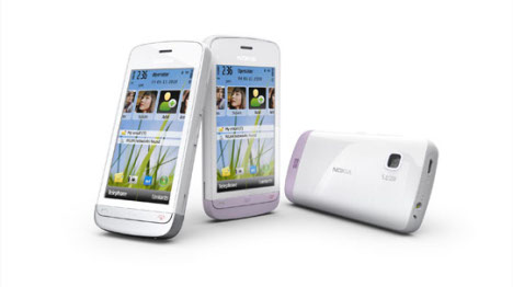 Nokia C5-03 Touchscreen Phone Launched