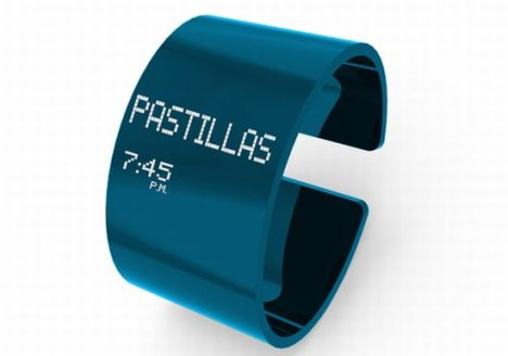 Concept: Pastillero Watch Reminds You When To Take Your Pills