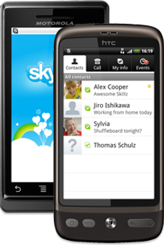Skype pour Android arrive enfin!