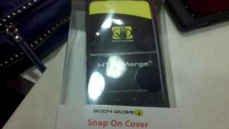 HTC Merge Body Glove Case Shows Up, Phone Still Not Available