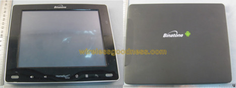 Binatone sends HomeSurf 8 Android tablet to the FCC