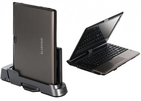 Gigabyte T1125 Tablet Convertible and Docking Station