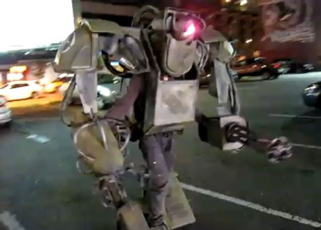 $1000 Robot Costume For Halloween