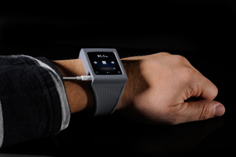 Le bracelet Hex transforme l'iPod Nano en une montre lecteur MP3