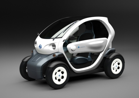 Nissan New Mobility Concept 2-seater Electric Car