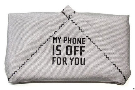 Phone Kerchief blocks all incoming calls and text messages