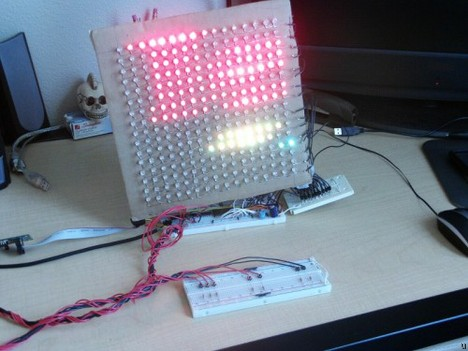 RGB LED Tetris Game
