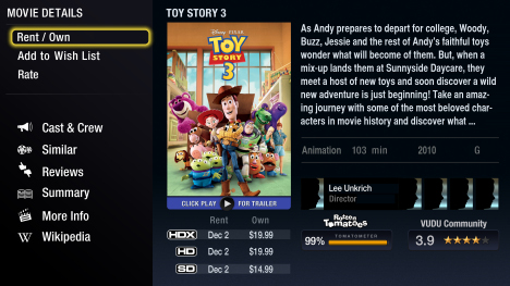 VUDU Offers A Digital Version Of Toy Story 3 When Your Purchase The Physical Media At Walmart