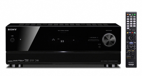 STR-DN1010: Sony's First 3D Compatible Audio/Video Receiver