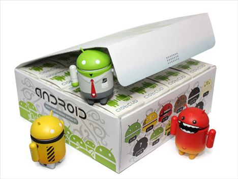 Les figurines Android arrivent