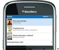 Amazon rolls out Kindle App for BlackBerry