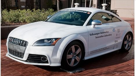 Robotic Audi TTS To Speed On Its Own Without A Driver
