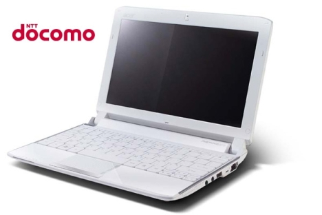 L' Acer Aspire One 532h aura la 3G au Japon