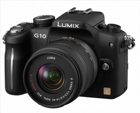 Panasonic G2 And G10 Specifications Out