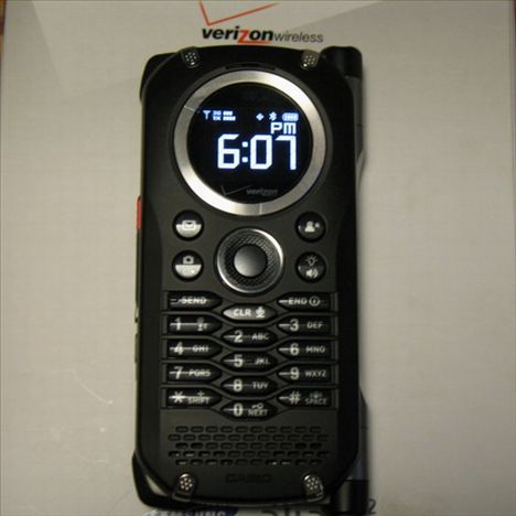 Verizon Rugged Casio Brigade C741 Is Currently Available ...