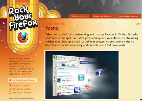 Blog Rock Your Firefox