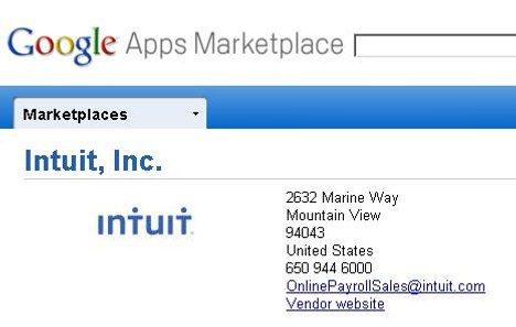 Annonce officielle du Google Apps Marketplace